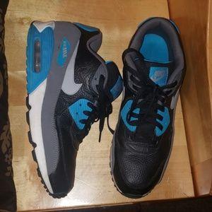 AIR MAX 90 essential BLUE AND BLACK